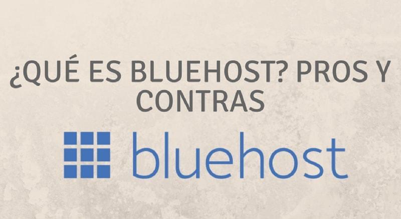 Que es Bluehost