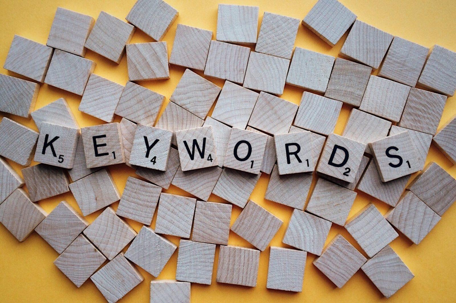 que son palabras claves y como usarlas