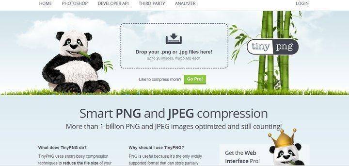 como comprimir imagenes para web 1