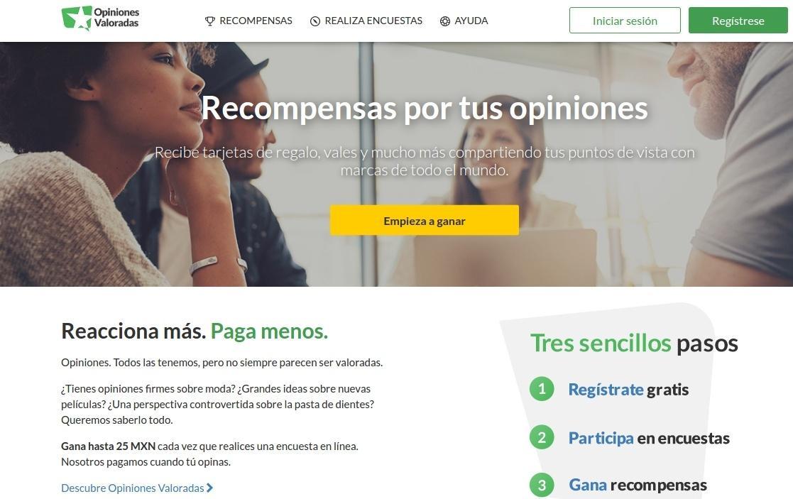 encuestas pagadas en mexico