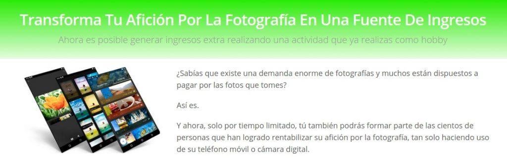 como ganar dinero con la fotografia
