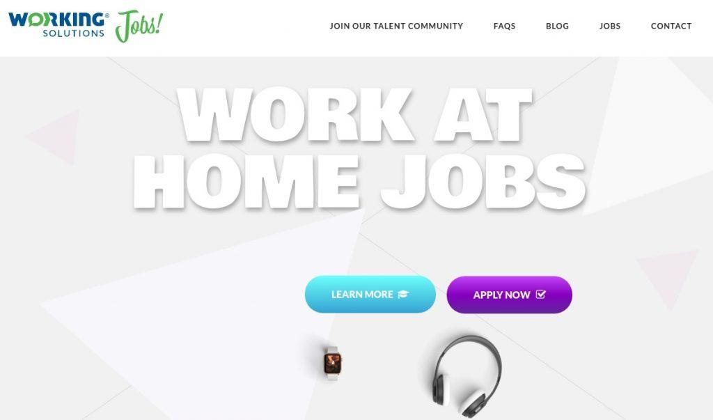 trabajos de medio turno working solutions