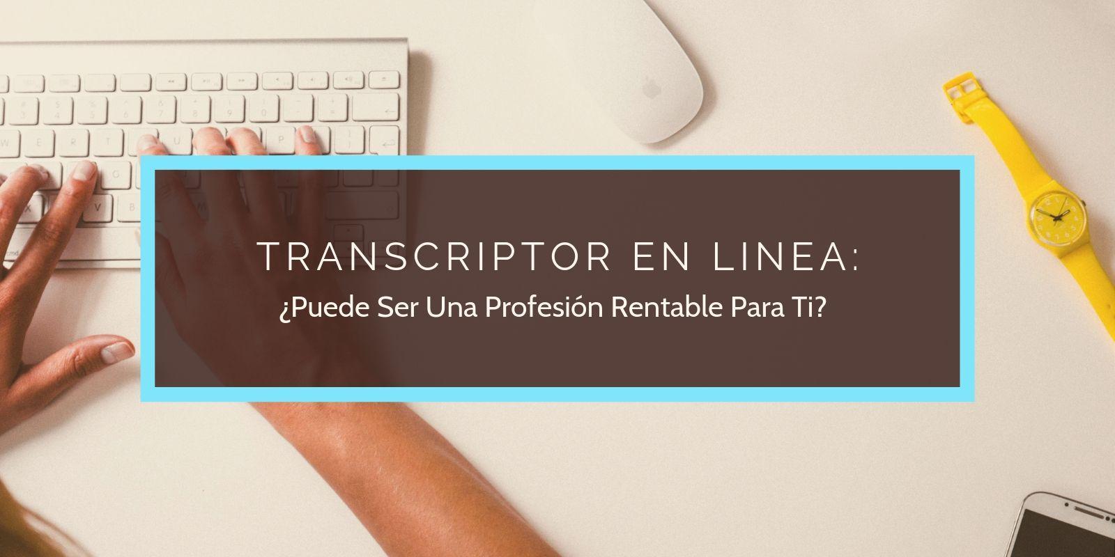 transcritor en linea